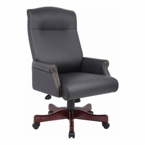 Box Arm Boss Traditional Office Chair [B970]
