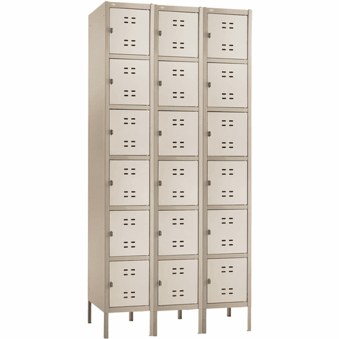 Box Locker 3 Column Tan [5527TN]
