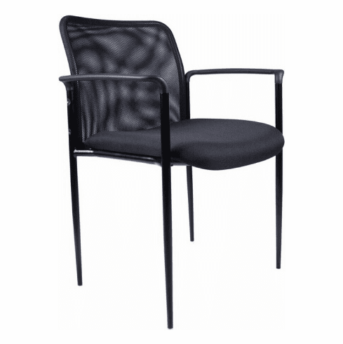 Contemporary Mesh Stacking Chair [B6909]