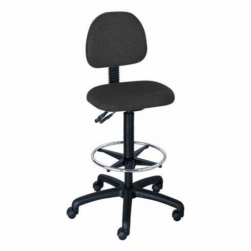 ***Discontinued*** Safco Trenton Extended Height Drafting Chair [3420BL]