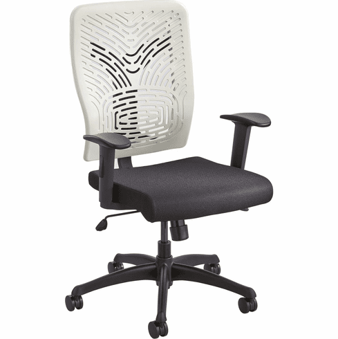 ***Discontinued*** Voice™ Series Task Chair Plastic Back Latte [5085LT]