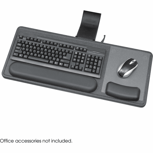 Ergo-Comfort® Sit / Stand Articulating Keyboard / Mouse Arm Black [2196]