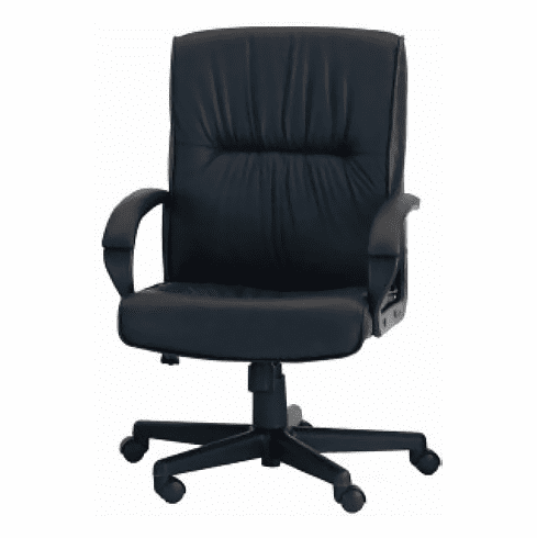 ***Discontinued*** Ergocraft Mayor Mid Back Leather Chair [PS-7351]