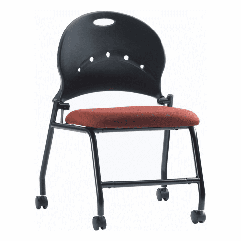 ***Discontinued*** Ergocraft Zappa Nesting Chairs with Casters [PS-1310]