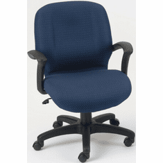 Discontinued Ergocraft Zoey Mid Back Fabric Office Chair E