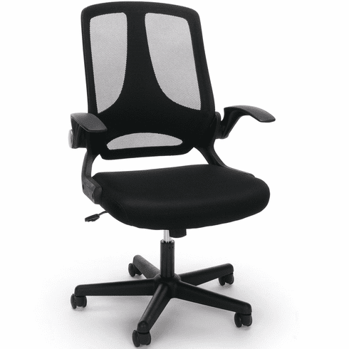 Essentials by OFM Mesh Upholstered Flip-Arm Task Chair [ESS-3045]