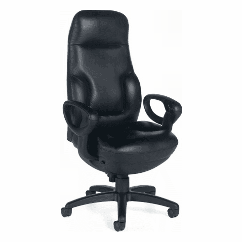 Global Concorde Big and Tall Leather Executive Chair [2424-18]