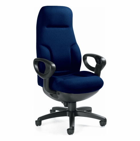 Global Concorde Fabric Upholstered Big and Tall Office Chair [2424]
