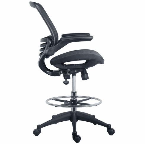 Harwick Evolve Mesh Big and Tall Drafting Chair - Dark Knight Edition [2250D-DRK]