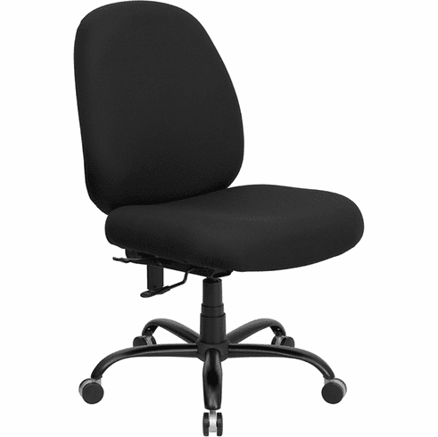 Hercules Series 400 Big and Tall Office Chair [WL-715MG-BK-GG]