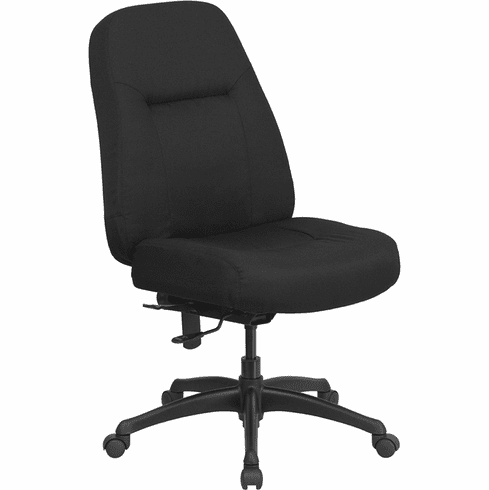 Hercules Series 400 LB Heavy Duty Office Chair [WL-726MG-BK-GG]