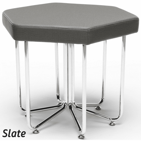 Hex Stool with Chrome Frame [66-HEX]