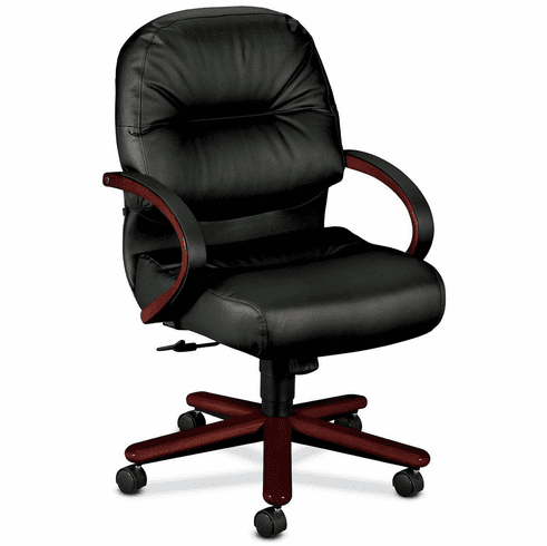 HON Mid Back Leather Office Chair [2192]