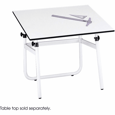 Horizon Drawing Table Base White [3961]