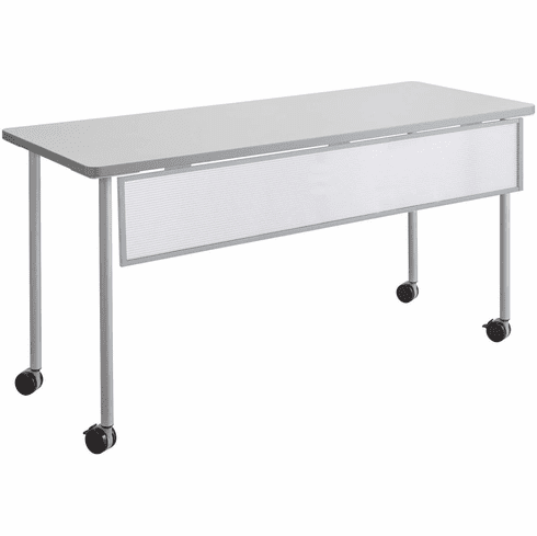 "Impromptu® Modesty Panel for 60"" Table Metallic Gray [2076SL]"