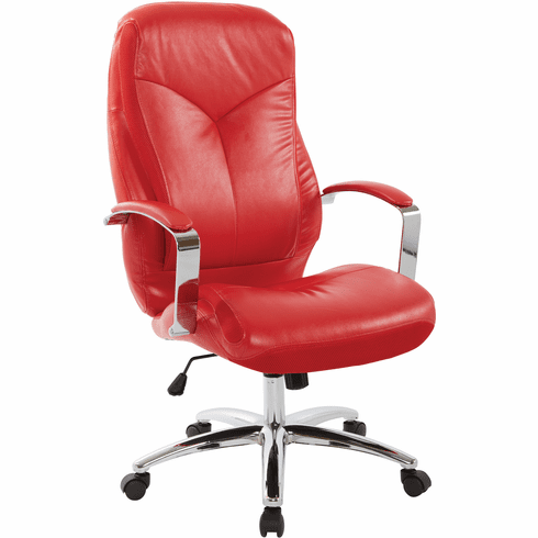INSPIRED by Bassett Clifton Office Chair Red [BP-CLFEX-U9]
