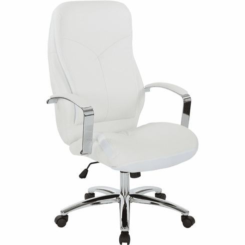 INSPIRED by Bassett Clifton Office Chair White [BP-CLFEX-U11]