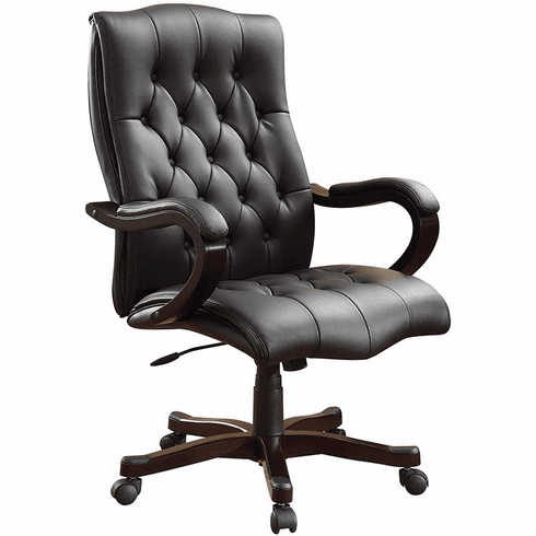 INSPIRED by Bassett Dixon Button Back Traditional Office Chair [BP-DXTX-EC3]