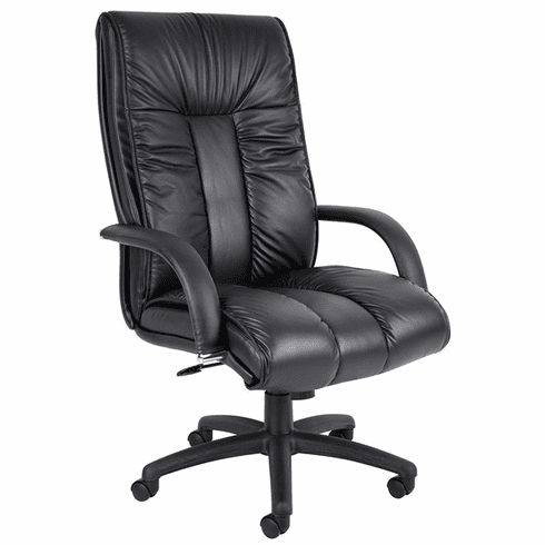 Italian Leather CEO Executive Office Chair [B9301]