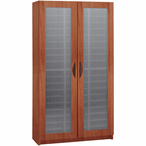 Literature Organizer with Doors 60 Compartment Cherry [9355CY]