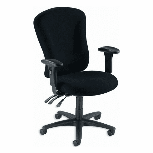 Lorell Accord Upholstered Ergonomic Office Chair [66153]