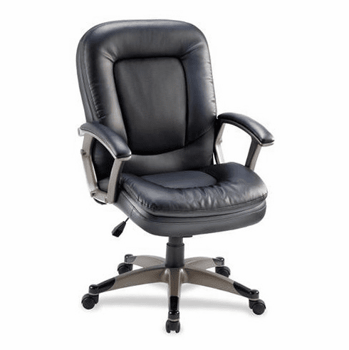 Lorell Bonded Leather Office Chair [69519]