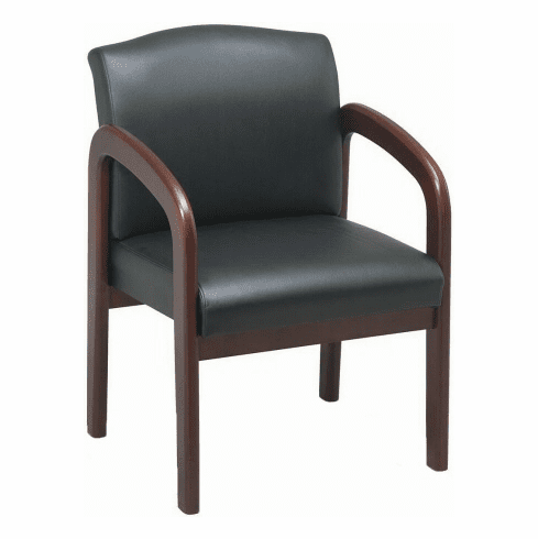 lorell-wood-finish-office-guest-chair-60470-43.png  sc 1 st  Office Chairs Unlimited & Lorell Wood Finish Office Guest Chair [60470]