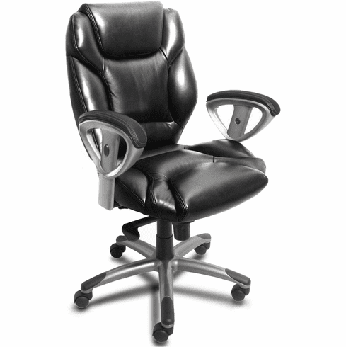 Lumbar Support Leather Task Chair [UL330M]