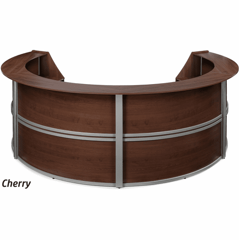 Marque 4 Unit Curved Reception Station [55294]