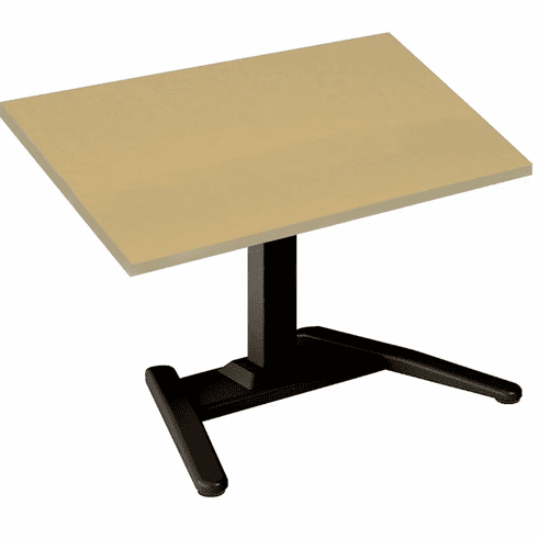 "Mayline 36""x30"" Single Surface Height Adjustable Table Birch [605LTXX]"