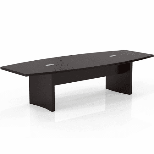 Mayline Aberdeen 10' Conference Table, Boat Mocha [ACTB10LDC]