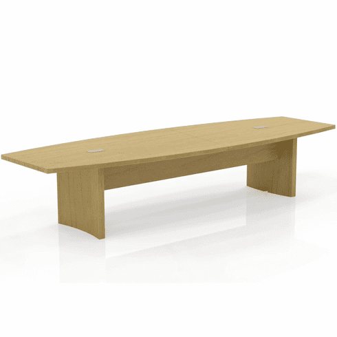 Mayline Aberdeen 12' Conference Table, Boat Maple [ACTB12LMA]