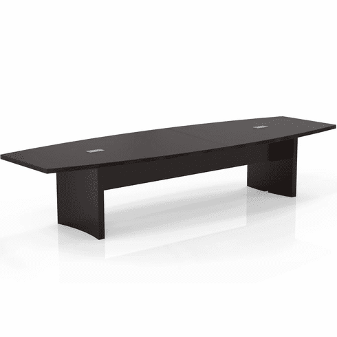 Mayline Aberdeen 12' Conference Table, Boat Mocha [ACTB12LDC]