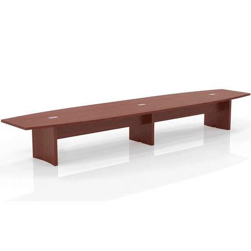 Mayline Aberdeen 18' Conference Table, Boat Cherry [ACTB18LCR]
