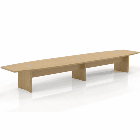 Mayline Aberdeen 18' Conference Table, Boat Maple [ACTB18LMA]