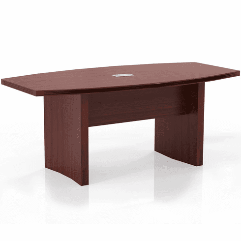 Mayline Aberdeen 6' Conference Table, Boat Cherry [ACTB6LCR]