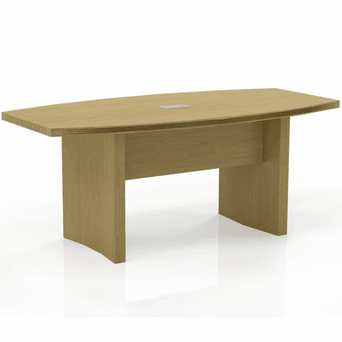Mayline Aberdeen 6' Conference Table, Boat Maple [ACTB6LMA]