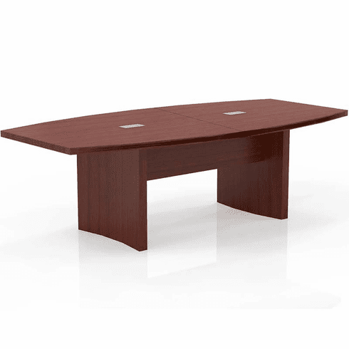 Mayline Aberdeen 8' Conference Table, Boat Cherry [ACTB8LCR]