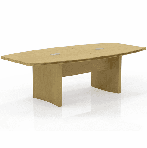 Mayline Aberdeen 8' Conference Table, Boat Maple [ACTB8LMA]