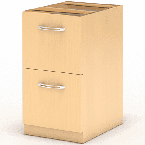 Mayline Aberdeen Desk FF Pedestal Maple [AFF26LMA]