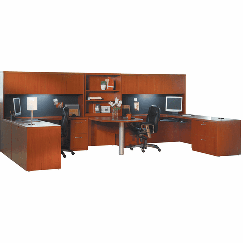 Mayline Aberdeen Office Desk Set Cherry [AT18LCR]