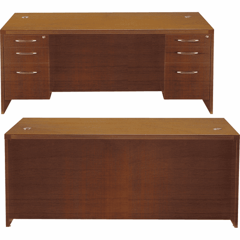 Mayline Aberdeen Office Desk Set Cherry [AT1LCR]