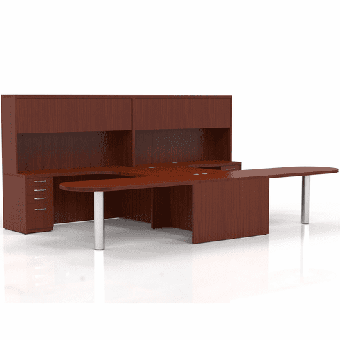 Mayline Aberdeen Office Desk Set Cherry [AT21LCR]