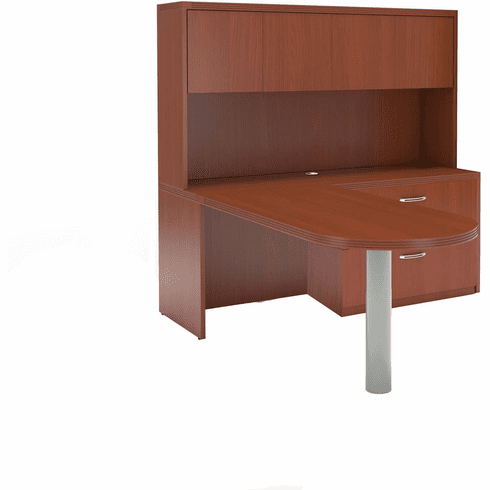 Mayline Aberdeen Office Desk Set Cherry [AT24LCR]