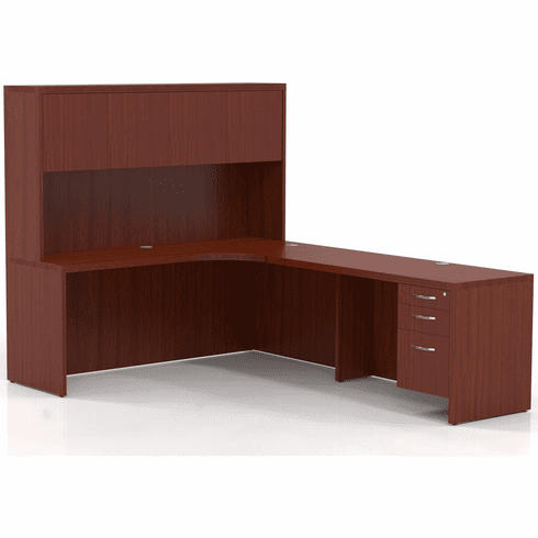 Mayline Aberdeen Office Desk Set Cherry [AT25LCR]
