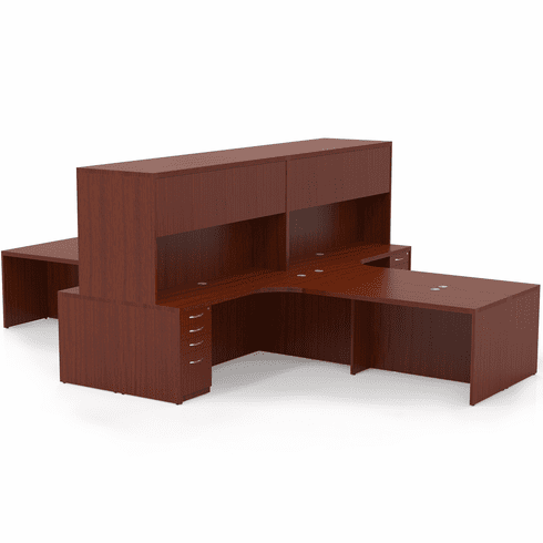 Mayline Aberdeen Office Desk Set Cherry [AT27LCR]