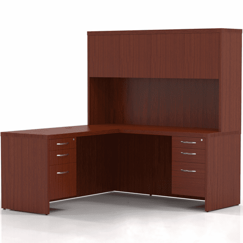 Mayline Aberdeen Office Desk Set Cherry [AT32LCR]