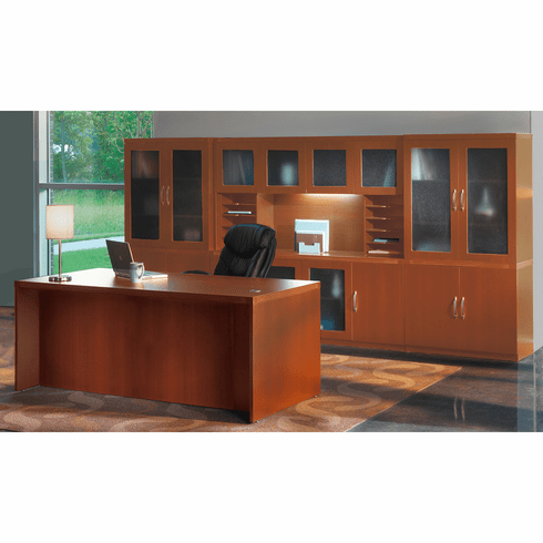 Mayline Aberdeen Office Desk Set Cherry [AT35LCR]