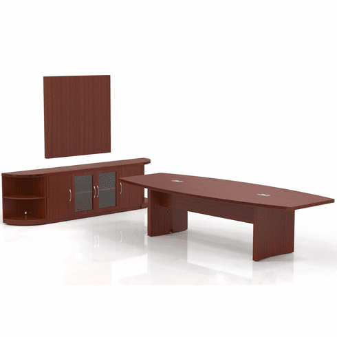 Mayline Aberdeen Office Desk Set Cherry [AT39LCR]