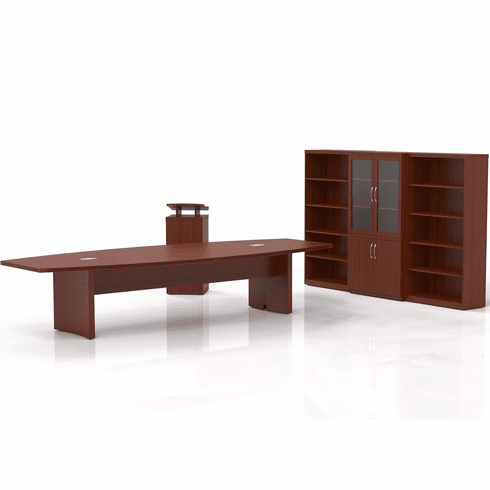 Mayline Aberdeen Office Desk Set Cherry [AT40LCR]